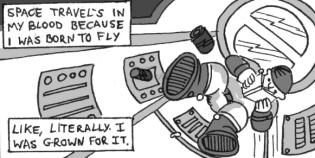 Space Grown Spaceman