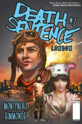 Death Sentence: London Monty Nero cvr 1