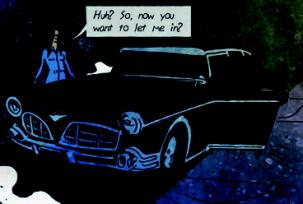 Hope's car