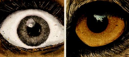 BW eyes