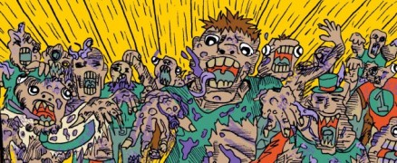 Funk Soul Samurai - zombies
