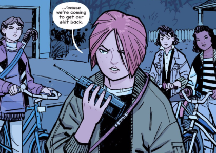 Paper Girls vs the world