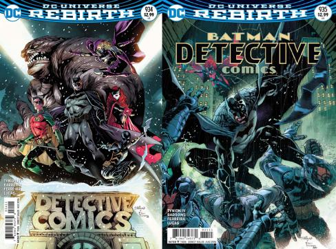 Detective Comics #934 & #935