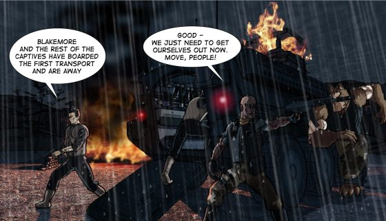 Vanguard vs bad guys