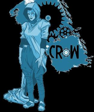 Crow Transparent BG