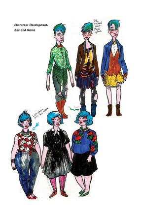 Cosmic characters 1