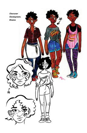 Cosmic characters 2